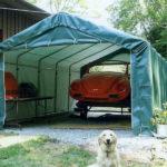 Temporary Garage Shelter, Temporary Car Shelter, 12' x 40' x 8'