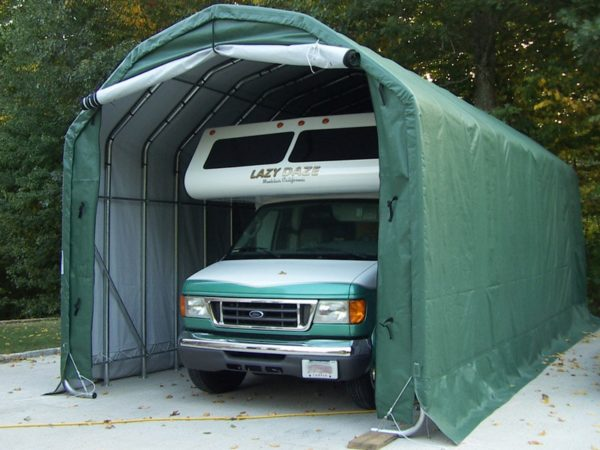 Pop Up Garage Tent, Car Shelters For Sale, 12 x 20 x 12H