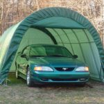 12x20x8 Instant Garage, One Car Garage | Rhino Shelters