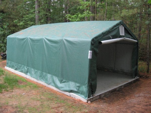 One Car Garage, Portable Garage, Instant Shelter | Rhino ...