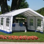 14x14x9 Outdoor Party Tent | Rhino Shelters