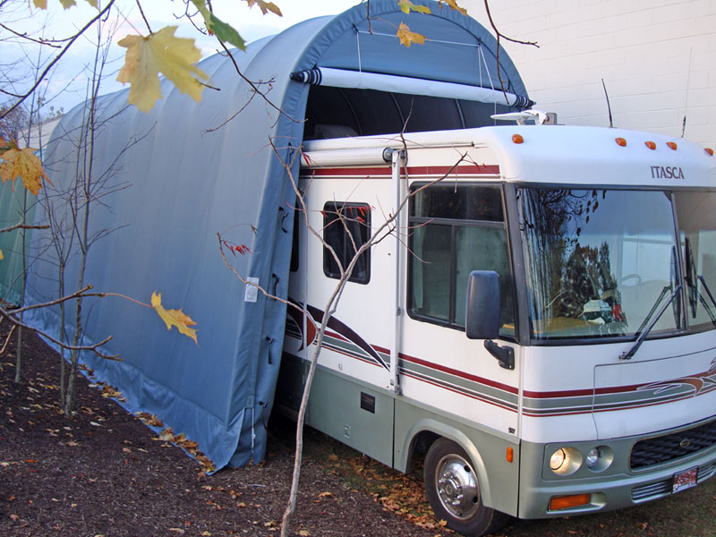 RV And Boat SheltersFor Sale,Instant Garages, 14x36x15 ...