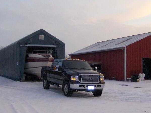 Portable Garage Buildings, 14 x 42 x 17