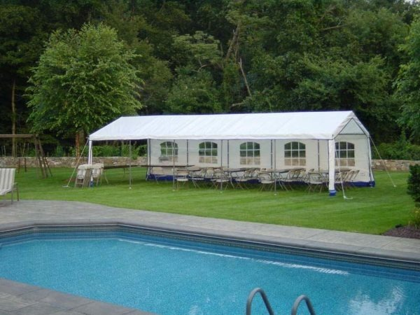 14x32x9 Outdoor Party Tent | Rhino Shelters