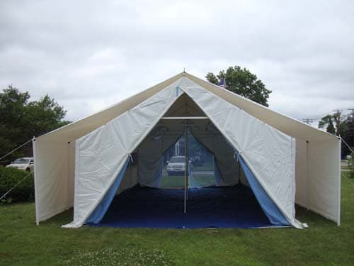 18x32x15 Disaster Relief Tent | Rhino Shelters