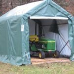 Backyard Storage Tent, 8 x 8 x 8, House Style
