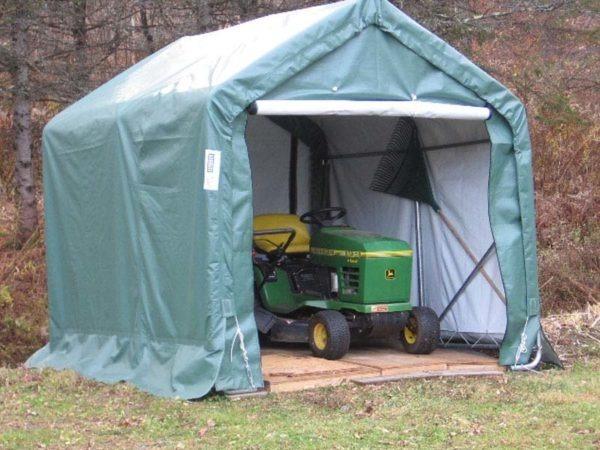 8x8x8 House Style Storage Shed | Rhino Shelters