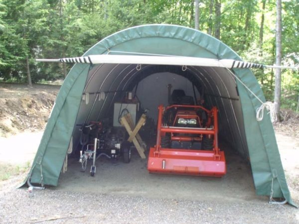 Small Roll Up Door Kit | Rhino Shelters