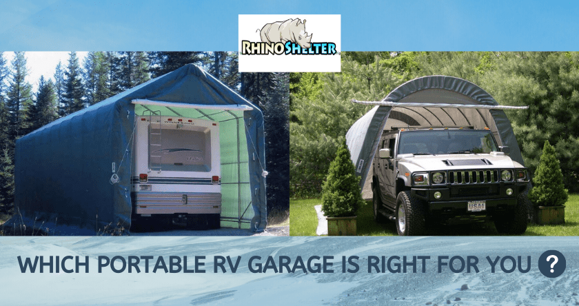 Which Portable RV Garage Is Right For You