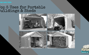 Top 5 Uses For Rhino Portable Buildings & Sheds