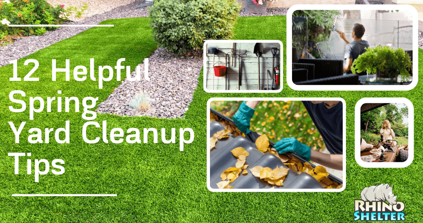 12 Helpful Spring Yard Cleanup Tips