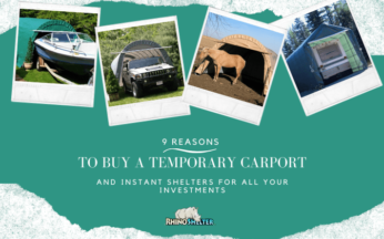 9 Reasons to Buy a Temporary Carport