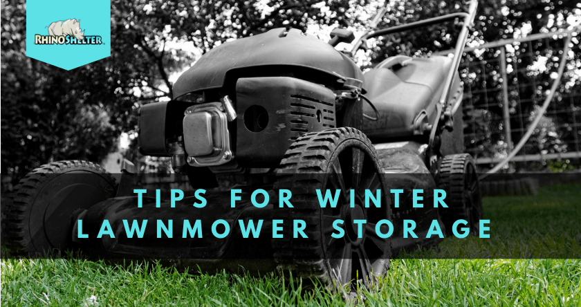 Tips for Winter Lawnmower Storage