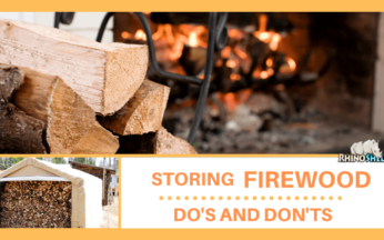Storing Firewood: Do's and Don'ts