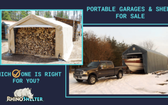 Portable Garages & Sheds for Sale, Which One is Right For You?